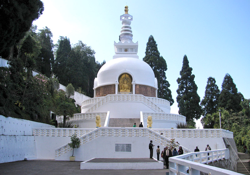 Japanese Peace Pagoda and Buddhist Monasteries