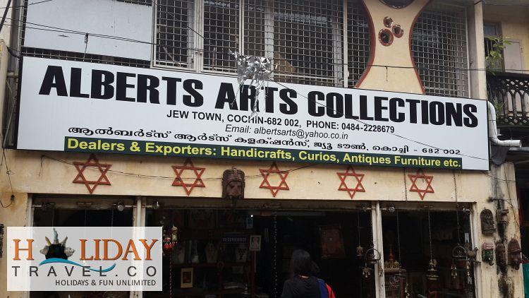 Jewish-Town-Kochi-Art-Shop