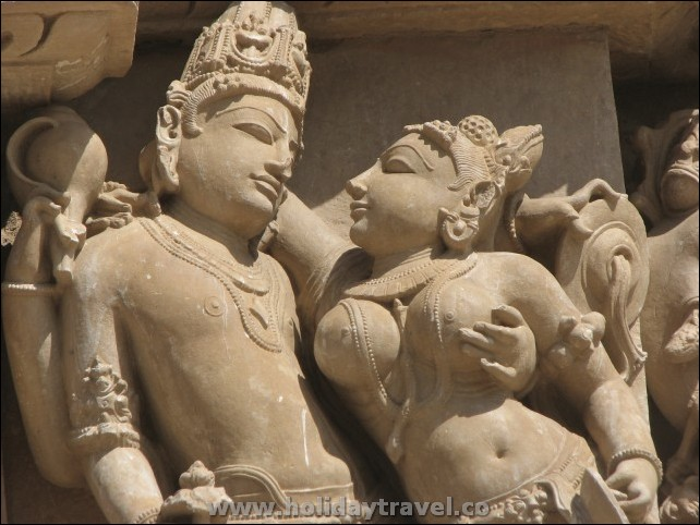 KHAJURAHO_Erotic_Most_famous_Sculpture