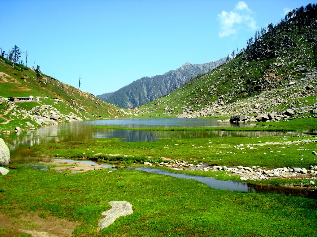 Kareri Lake Indian Himalayas