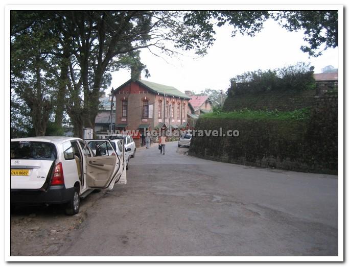 Kasauli bazaar - Cleanest No Traffic