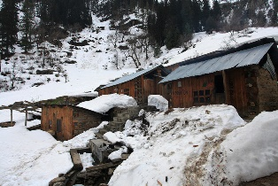 Kheerganga-Accomodations