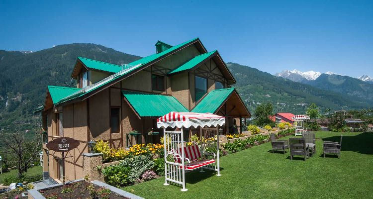 Kullu Manali Special Honeymoon Package-4-Garden- Anantmaya Manali