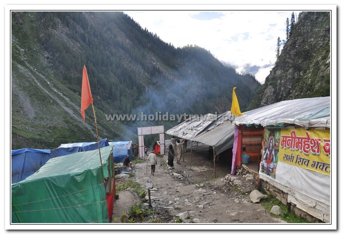 Finally Dhanchow - The First stop in Manimahesh yatra