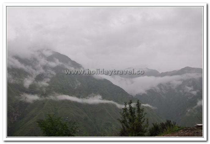 Manimahesh Yatra - Clouds, Hills, Sky & Road - A sacred Bliss