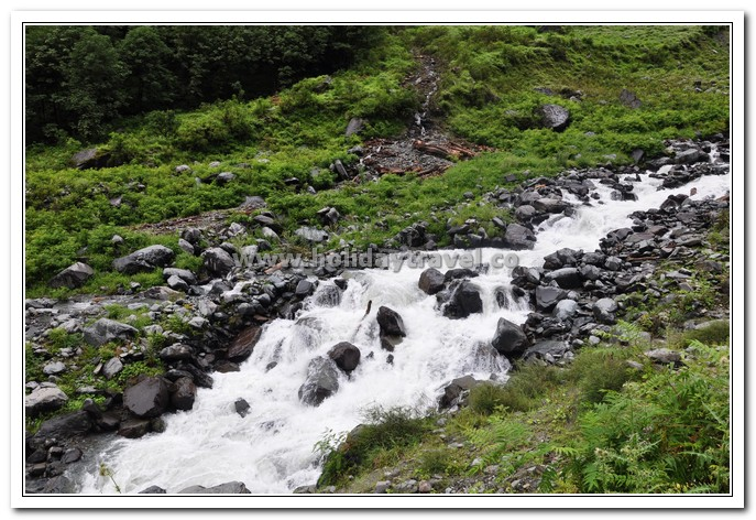 Abundant natural Beauty - Manimahesh Trek starts