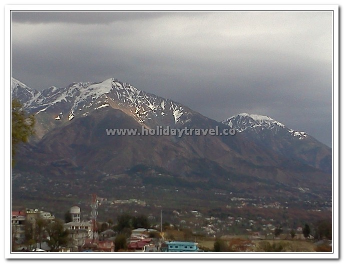 Mighty Dhauladhar Ranges in Dharamshala