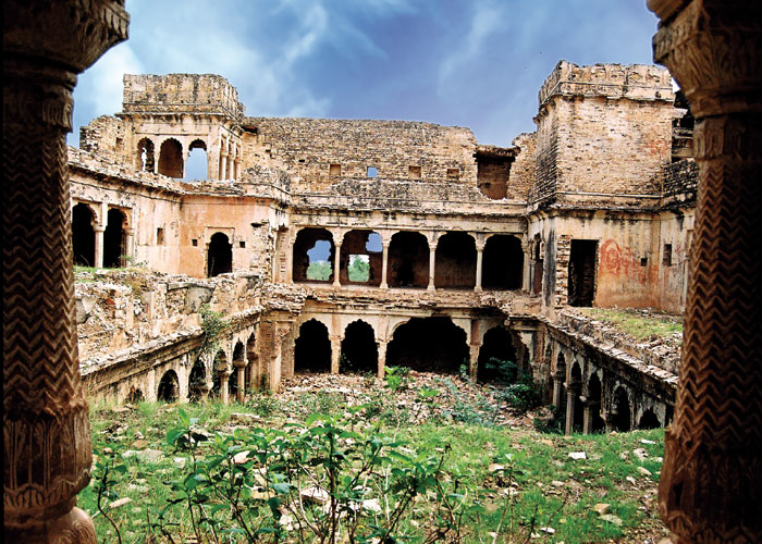 Morena_Sambhalgarh Fort_Archeological site