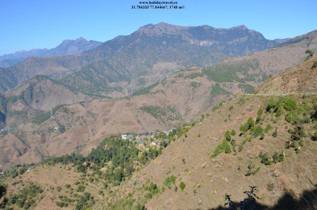 MountainsEnrouteParasharLake