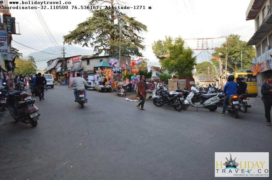 Palampur-Main-bazaar-Chowk