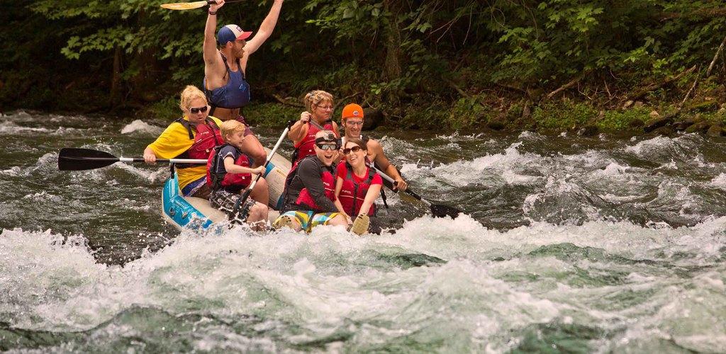 River-Rafting: