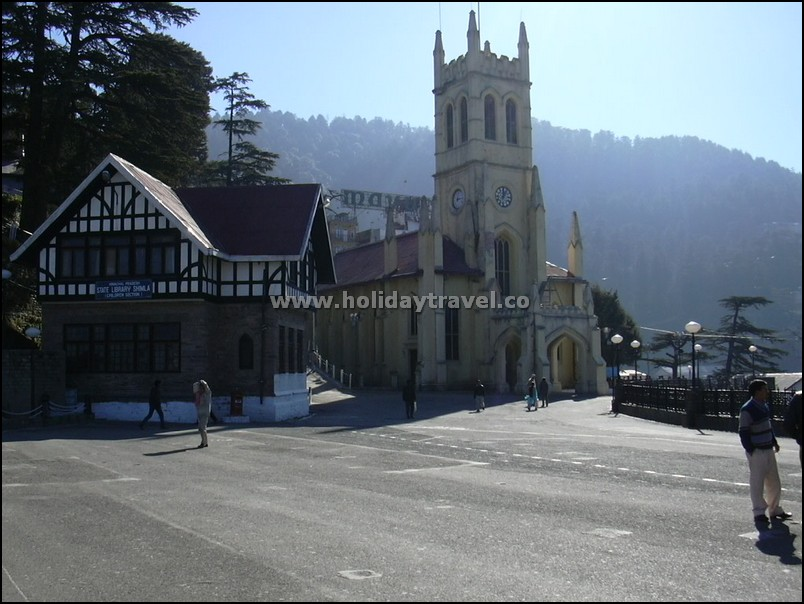 Shimla_ChurchInMorning_SoPeaceful