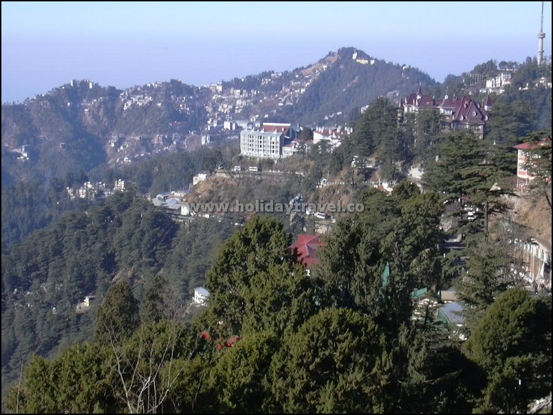 Shimla_GreenViewofHillsinMorningSun