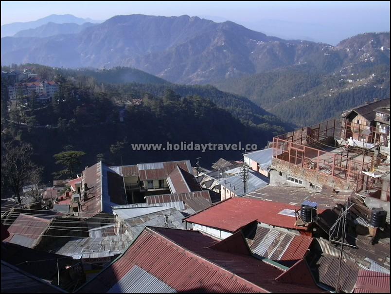 Shimla_HouseRoofs
