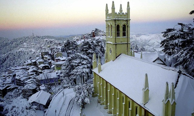 Shimla Snow Fall Great View ( By Nidhi Singh)