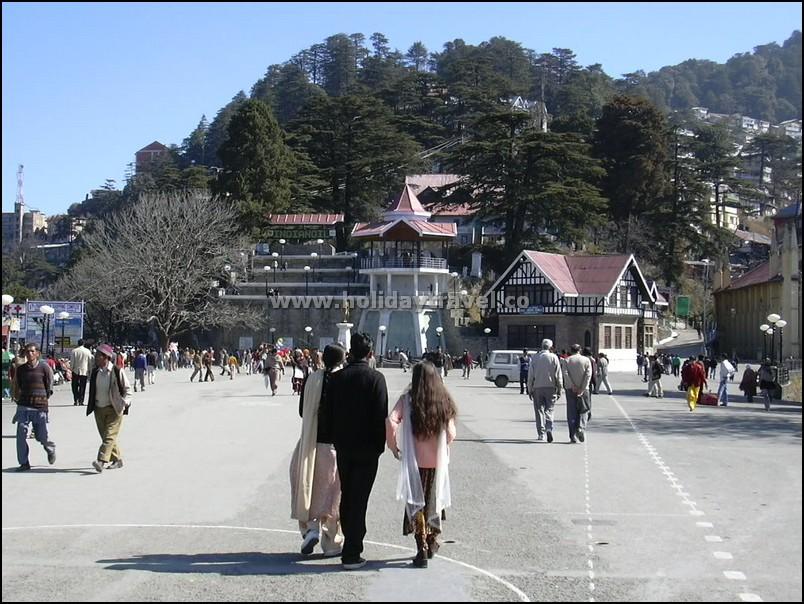 Shimla_famousRidgeInMorning
