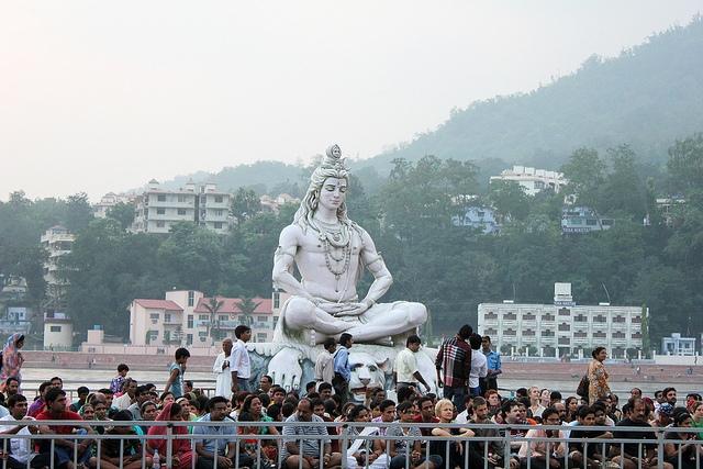 ShivaStatueRishikeshonBankOfGanga