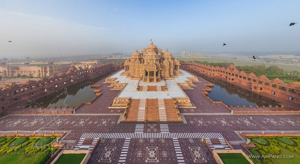 Akshardham Temple Stunnung Panormic View