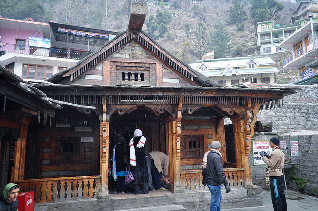 The Vashisht Hot Sulphur Springs
