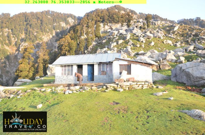 Triund-Trek-Package-With-Camping-Sunlit-camp-Morning