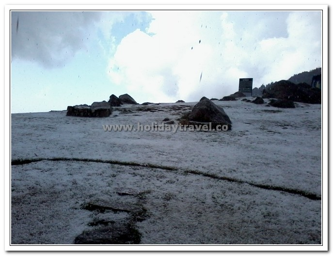 Hail Storm in Triund - Regret Picture Quality