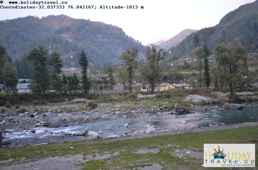 Uhl-River-in-Barot-Village-In-Evening-Breathtaking-View3-Holidaytravel.co-