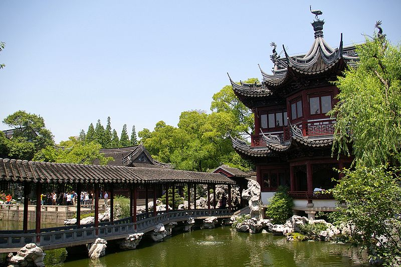 Yu Yuan—a beautiful ancient garden