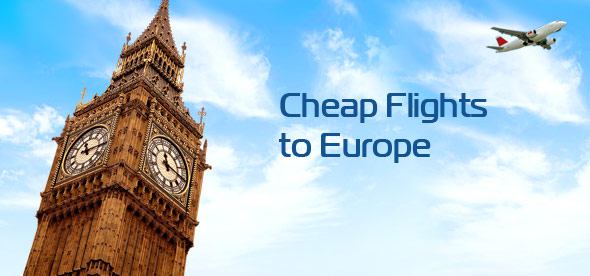 Cheapest travel to europe from india for Best flights to paris