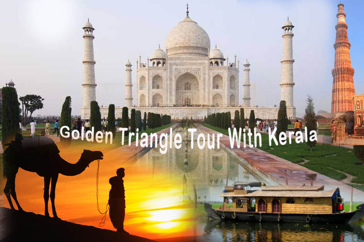Golden Triangle India Tour With Kerala-god's Own Country