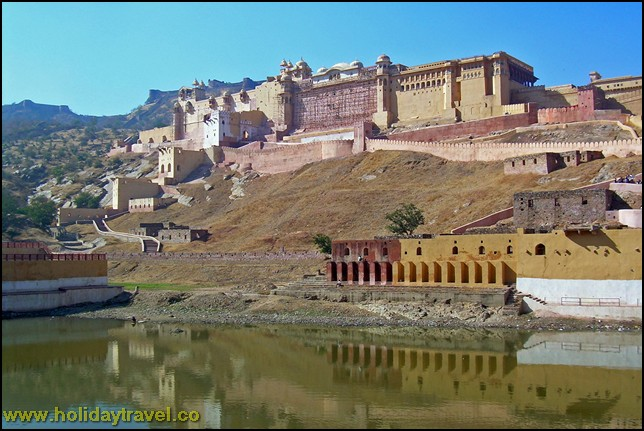 Magnificent view of -amber-fort-Jaipur