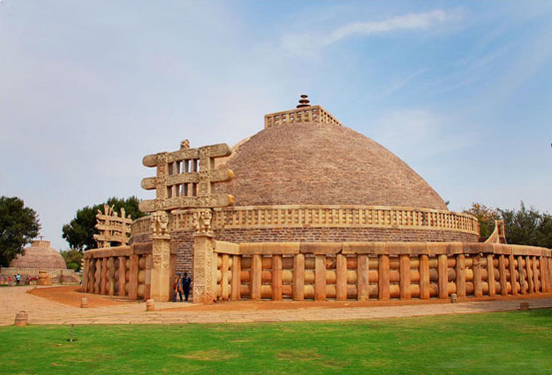 Sanchi Stupa - Sanchi